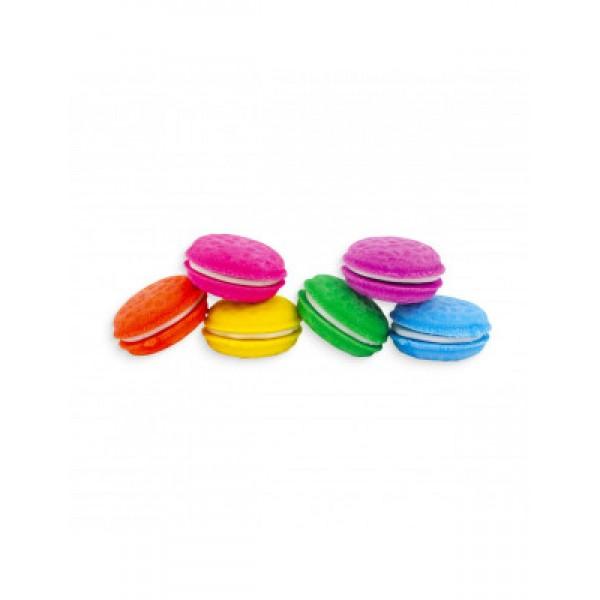 112-052 Μacarons Vanilla Scented Erasers