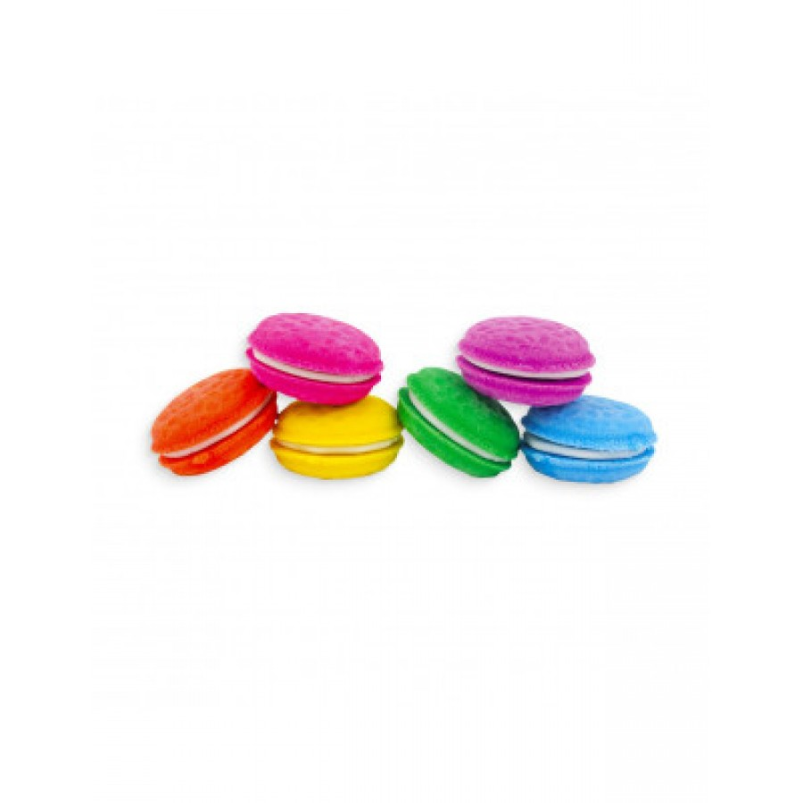 112-052 Μacarons Vanilla Scented Erasers ΓΟΜΕΣ  ΜΕ   ΣΧΕΔΙΑ