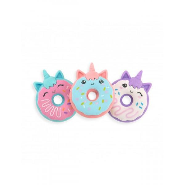 112-090 Magic Bakery Unicorn Donuts Scented Erasers - Set Of 3