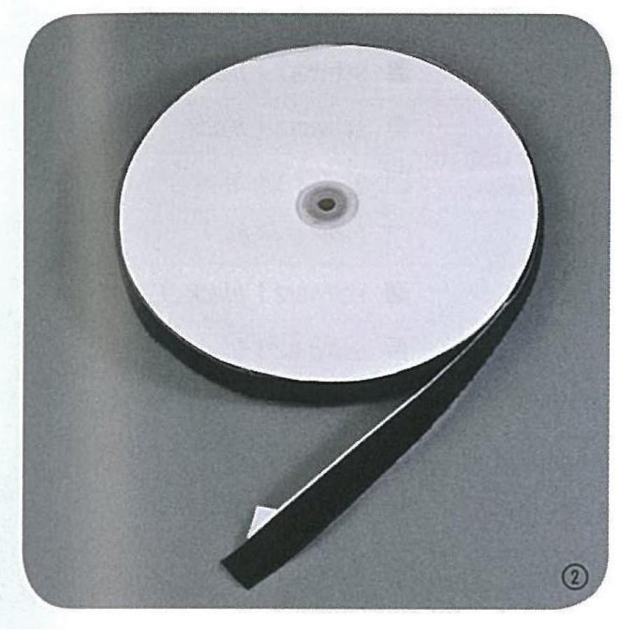 Velcro ταινία αυτοκόλλητη μαύρη,16mm 1 μέτρο ΚΟΛΛΗΤΙΚΕΣ ΤΑΙΝΙΕΣ