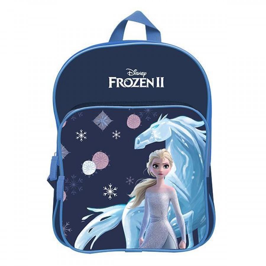 """Bagtrotter τσάντα νηπίου πλάτης """"Frozen II"""" με 2 θήκες Υ31x23x8εκ.  ΤΣΑΝΤΕΣ ΝΗΠΙΟΥ"""
