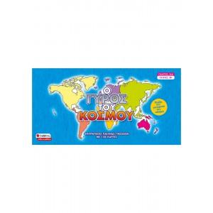 Ο γύρος του κόσμου Επιτραπέζιο παιχνίδι γνώσεων με 128 κάρτες ΕΠΙΤΡΑΠΕΖΙΑ