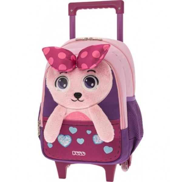 Polo Σακίδιο Trolley New Animal Junior Φιόγκος 9-01-008-8090 (2021)