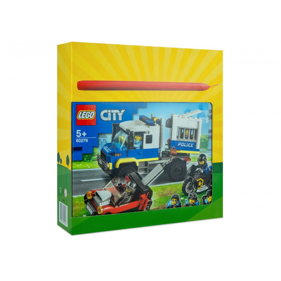 Λαμπάδα LEGO® City Police Prisoner Transport (60276) ΛΑΜΠΑΔΕΣ LEGO