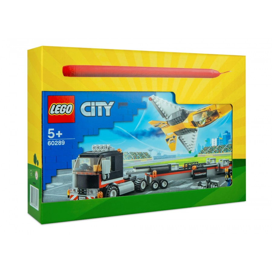 Λαμπάδα LEGO® City Airshow Jet Transporter (60289) ΛΑΜΠΑΔΕΣ LEGO
