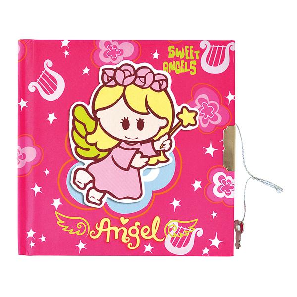 Sweet angels (σημειωματάριο με κλειδί)