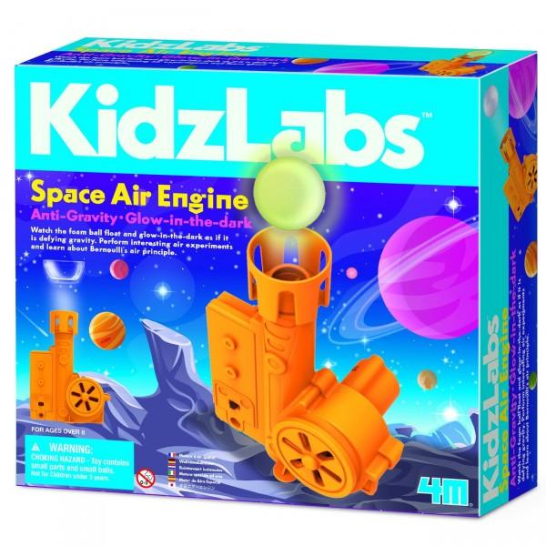 4M KidzLabs Space Air Engine Kids Science Kit - Anti Gravity & Glow in the Dark