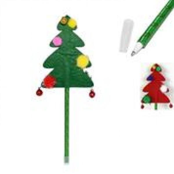 """Στυλό """"Χριστουγεννιάτικο δέντρο"""" σε δυο χρώματα Υ23x7εκ."""