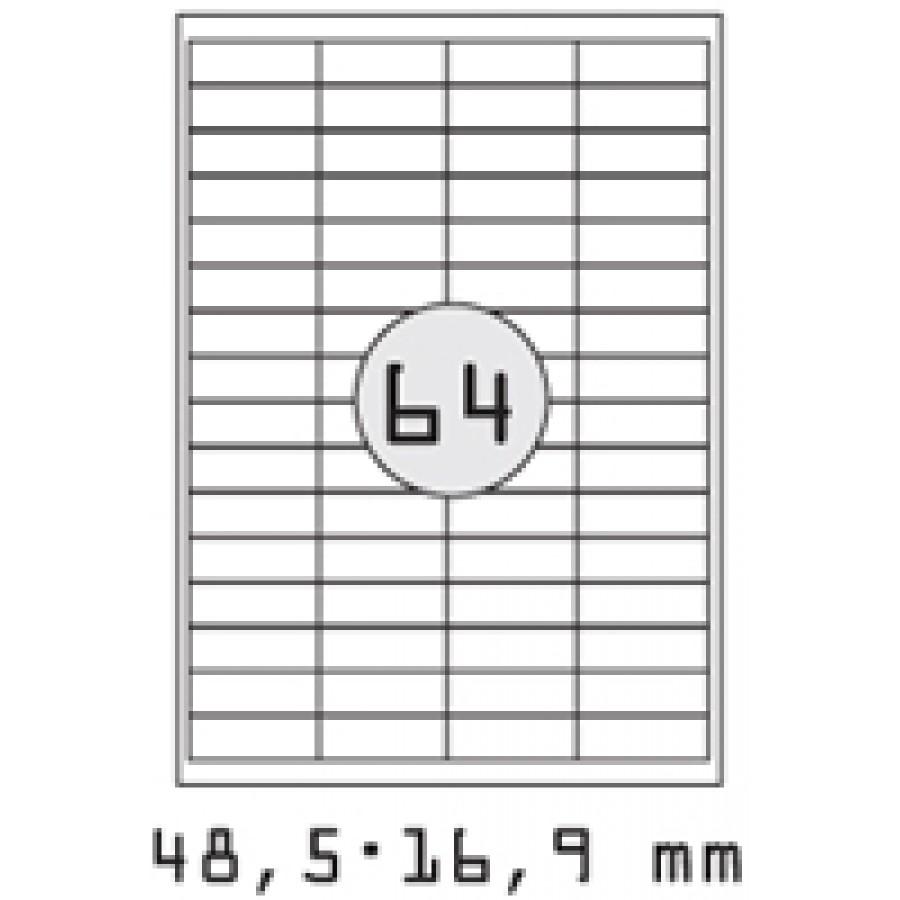 ΕΤΙΚΕΤΕΣ ALPHA 5929 48,5x16,9 τεμ 6400/Κ 100φ